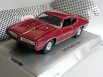 Macheta Pontiac GTO 1969 - Welly 1/36 muscle car