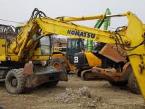 Excavator pe roți Komatsu PW 200 -7k