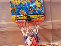 Set cos de baschet pentru copii, se monteaza pe perete cu ba