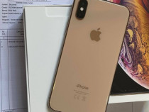 Iphone xs gold   nou   neverlock   full box   64 gb   garanț