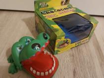 Jucarie amuzanta cu dinti miscatori jucarie croco pentru cop