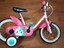 """Bicicleta btwin 14"""" CA NOUA! + CASCA CADOU"""