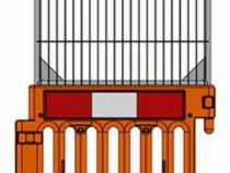 Garduri semnalizare santier/podete pietonale
