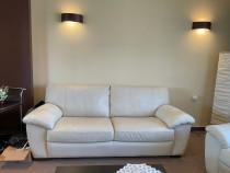 Canapea cu 2 fotolii din piele ecologica IKEA