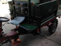 Tractoras 4x4 disel pornire la cheie