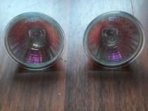 Două spoturi halogen