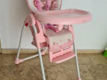 Scaun de masa bebe Baby Care, reglabil in 3 trepte, pliabil