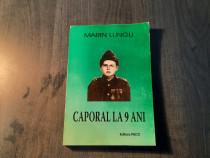 Caporal la 9 ani de Marin Lungu cu autograf