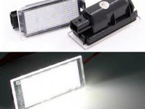 Set lampa led iluminat plăcuțe număr înmatriculare Renault