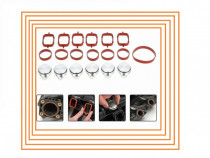 Set 4 - 6 dopuri 22 33mm Anulare clapete galerie admisie bmw