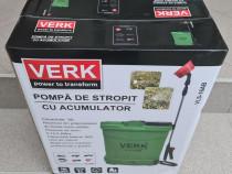 Pompa de stropit cu acumulator Verk