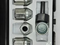 Set piulite antifurt Locky M12x1.5 Chevrolet, Ford, Mazda, O