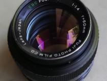 Extrem Sharp Portret Bokeh Fujinon EBC 50mm F1,4 montura M42