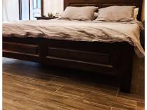 Mobila dormitor lemn masiv tei