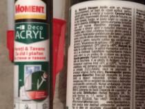Moment Deco Acryl - Etansant acrilic rosturi, umplere fisuri