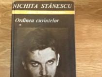 Nichita Stanescu - Ordinea cuvintelor (2 volume)