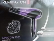 Uscator de par Remington Ionic,2200 W, Mov/Negru