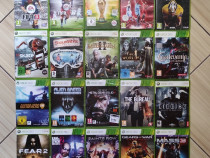 Xbox 360: FIFA, NBA, Guitar Hero, Gears Of War, Alien Breed,