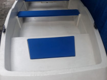 Barca trimarano 3.5x1.4 motor nou hidea-6hp 4timpi sau yamah