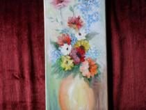 Flori 3-pictura ulei pe panza