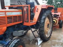 Presă și tractor same centurion 75