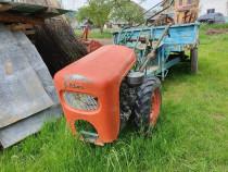 Tractor goldoni cu remorca