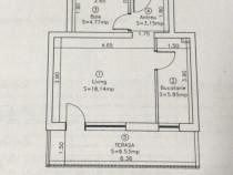 Apartament 1 cameră , Florești zona Eroilor