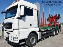 Camion forestier MAN 6x4 macara Z+finantare livrare fara TVA