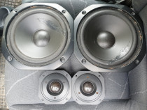 4 Difuzoare Pioneer-2 bass,2 tweetere