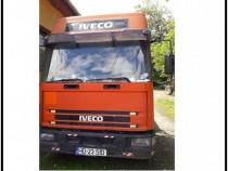 Camion Iveco Eurocargo si remorca 8,5 m