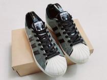 Adidas SUPERSTAR originali, pantofi sport, silver metalic 38