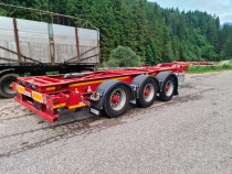 Semiremorca pentru transport containere Transcontainer