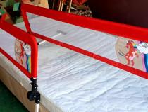 Margine de siguranta pentru patul copilului - 2 bucăți