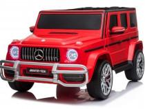 Masinuta electrica Mercedes G63 XXL 180W 24V PREMIUM #Rosu