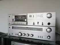 Linie vintage telefunken :receiver rr100+cass.deck rc100