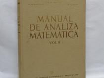 M. Nicolescu - Manual de analiza matematica, vol. II, 1964