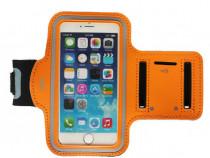 Husa telefon MRG M589, Pentru brat, 5.5 inch, Portocaliu C59
