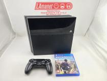 Playstation 4 PS4 500GB 1 Manete 1 Joc Watch Dogs 2 Stare Bu