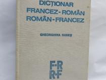 Dictionar francez-roman, roman-francez, Gheorghina Hanes