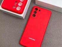 Husa Silicon Interior Catifea Samsung S21 S21 Plus S21 ULTRA