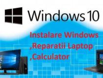 Instalez Windows , office , drivere , Reparatii laptop pc