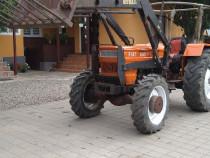 Tractor 4x4 Fiat 640 DTC incarcator frontal universal utb