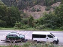Transport persoane microbus 8+1 si platforma auto