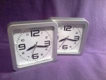 Ceas de perete sau de masa gri 15cm