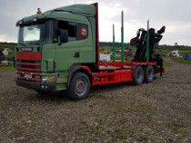 Camion Scania 400 Forestier