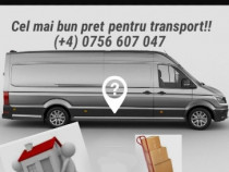 Transportam mobila si alte utilaje