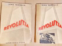 4349-D.Nicodim-Revolutia-Carte veche-Roman 2vol interbelica.