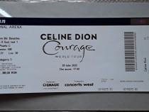 Bilet concert Celine Dion - Courage
