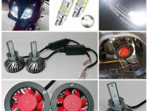 Sed 2 becuri led csp H3 20000lm 6000k 12v/24v canbus