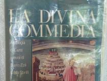 Studiu literar Dante Alighieri, La divina commedia antologie